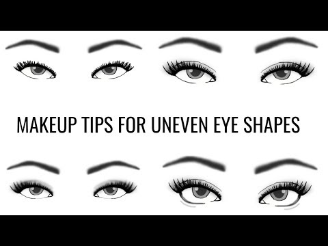 Uneven Eye Shape | How To Apply Eye Makeup | TheMakeupChair