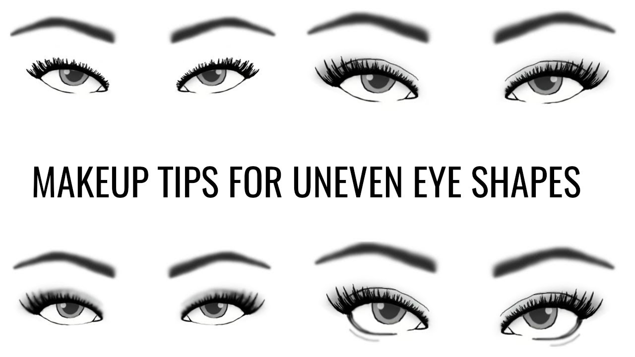 Uneven Eye Shape How To Apply Eye Makeup Themakeupchair Youtube