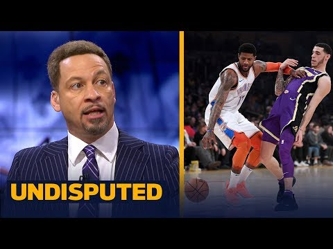 Chris Broussard reacts to the Lakers' 107-100 loss to the OKC Thunder | NBA | UNDISPUTED