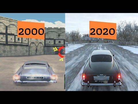 Evolution Of BOND CAR In 10 Different Games - Aston Martin DB5