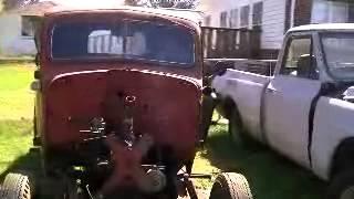 39 Dodge truck to Dakota frame.