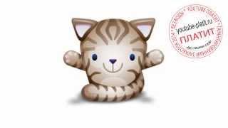 Нарисованные кошки  Как нарисовать лицо кошки поэтапно простым карандашом за 26 секунд(О том как нарисовать кошку написано уже много. Но при этом всегда найдется человек, который с трудом предста..., 2014-07-21T05:14:07.000Z)