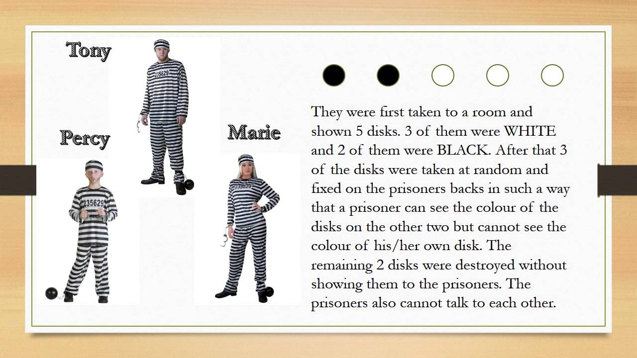 The Three Prisoners Puzzle Simple Solution Youtube