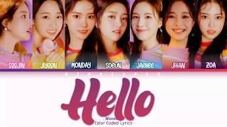 [READ DESCRIPTION] Weeekly (위클리) - Hello Lyrics (Han/Rom/Eng/Color Coded/Lyrics/가사) | bingsoosh