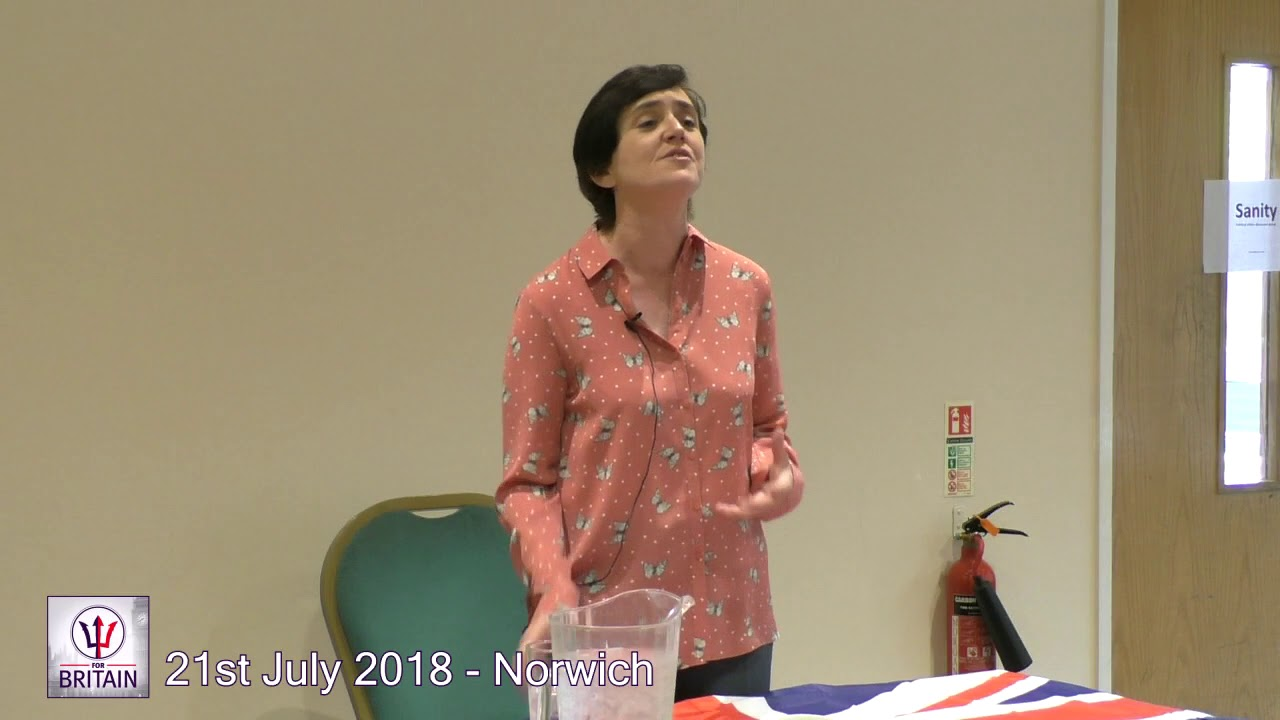 For Britain Anne Marie Waters Norwich 2018