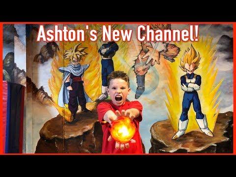 Ashton's 1st Video +  Ninja Kidz Tv Highlight Compilation!