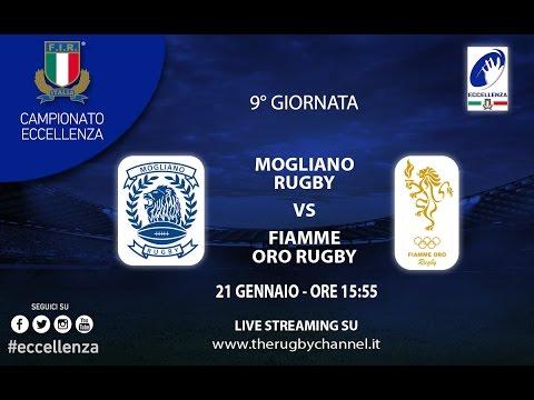 Mogliano Rugby - Fiamme Oro Roma Eccellenza 9° giornata 2016/17