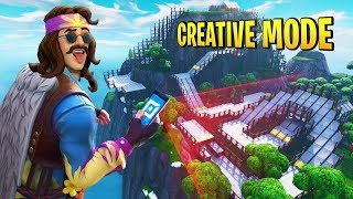 TRYING CREATIVE MODE FOR THE FIRST TIME W/ TEAM ALBOE!!