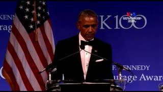 Օբաման ստացավ խիզախության համար մրցանակ