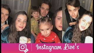Jorge Blanco And Stephie Caire Instagram Live Stream 10 January 2018