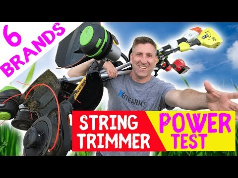 BEST STRING TRIMMER 2019 | Most Powerful Cordless Review💪💪💪