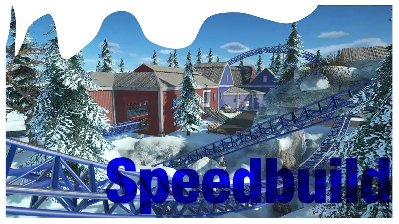 Planet Coaster - Speed Build #1 Launche Coaster Intamin