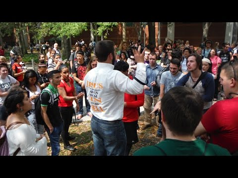 The University of South Florida Is FULL OF SINNERS! | Open Air Preaching | Kerrigan Skelly