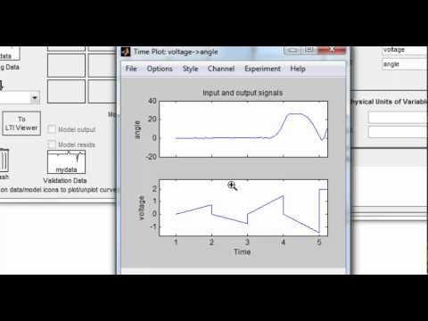 Идентификация нелинейных систем в MATLAB
