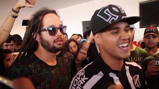 Alves & Naui Movni vs Nono & Free Batalha de Rap do Museu Intervalo Epico