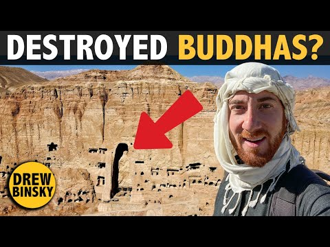 The Destroyed 4th Century Buddhas of Afghanistan