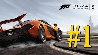 Forza Motorsport 5 - XBOX ONE - Gameplay #1 [DUBLADO - PT BR] - AO VIVO