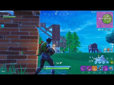 Fortnite Win! Grenade Launcher Game Strong!
