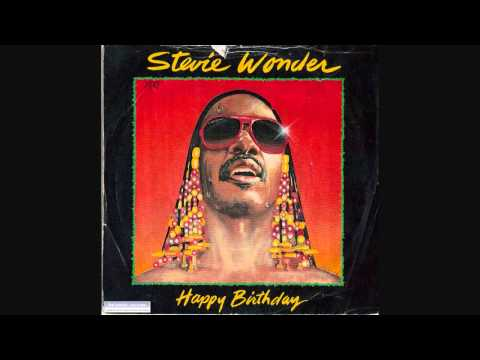 Stevie Wonder - Happy birthday 12 inch extended version
