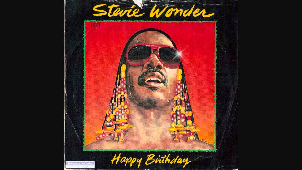 Stevie Wonder Happy Birthday.Stevie Wonder Happy Birthday 12 Inch Extended Version