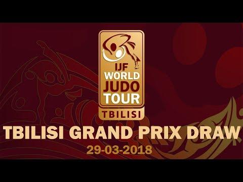 Grand Prix Tbilisi 2018 - Draw