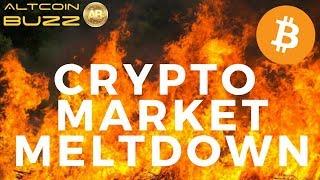Bitcoin Market Meltdown - Today's Crypto News