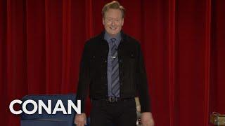 Conan Teases Next Tuesday's Celebrity Guest - CONAN on TBS