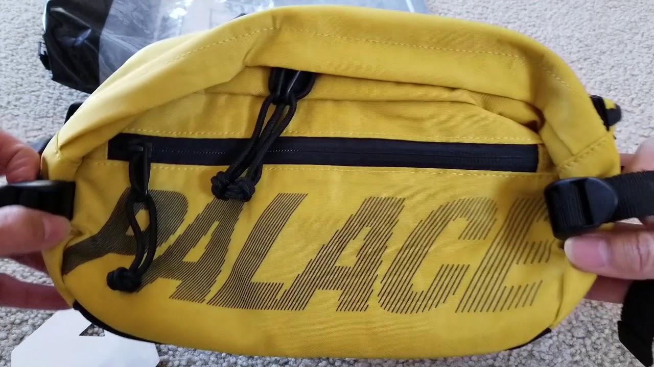 ec9edd63 Unboxing Palace Big BUN Waist Bag + 3M Reflective Test! 11 15 18 ...