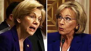 elizabeth warren destroys betsy devos over a lack of any relevant experience whatsoever