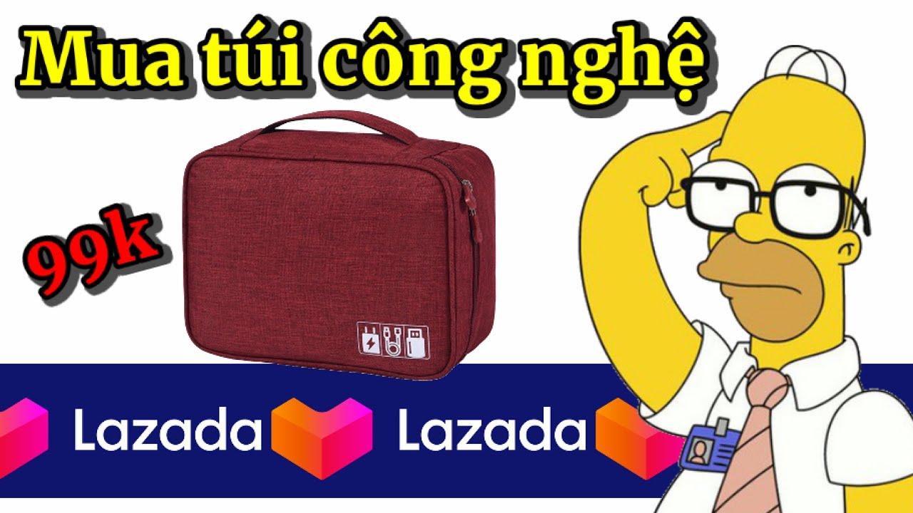 Mua túi phụ kiện công nghệ chống nước, chống sốc trên giá rẻ | Lazada #5