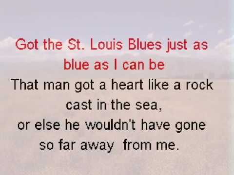 St  Louis Blues with vocals