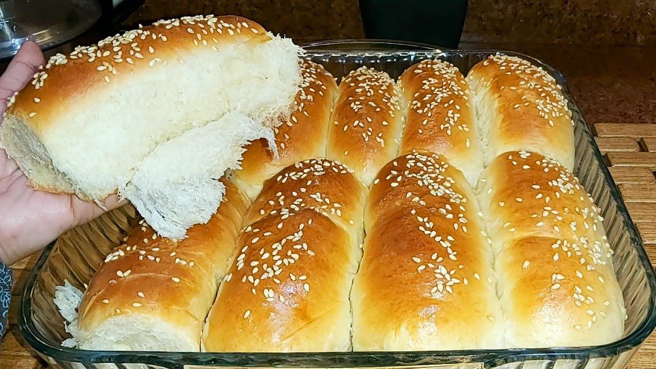 شيماء رسلان وصفة وطبخة خبز الحليب بعجينة هشة مثل القطن صحى ومفيد للأطفال Youtube