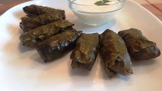 ДОЛМА - Рецепт приготовления(Долма — блюдо, представляющее собой начинённые листья (как правило, виноградные), голубцы в виноградных..., 2016-02-12T12:05:46.000Z)