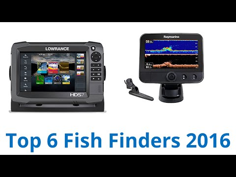 6 Best Fish Finders 2016