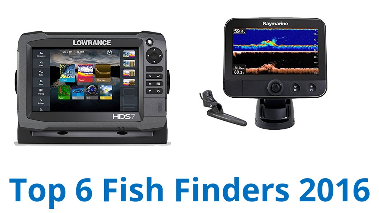 6 best fish finders 2016 youtube