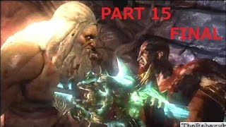 God of War® 3 Remastered (PS4 1080p) - Gameplay Complete Walkthrough (Part 15 Final)