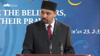 As'hab as sufah - companions of the Holy Prophet (saw) - Jalsa Salana USA West Coast 2013