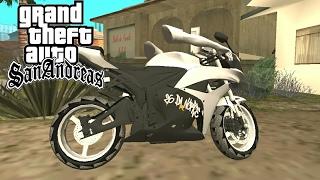GTA SAN ANDROID-MOD CBR600RR 2012 26 DA NORTE (COM BRAÇOS) PARA MOTOVLOG