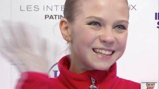 Александра Трусова 3 е МЕСТО Медведева не справилась с программой Гран При Skate Canada 2019