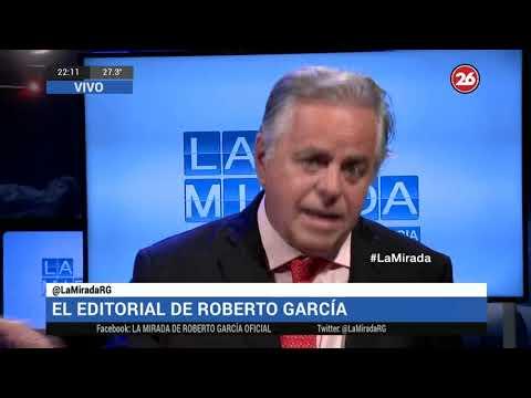 Canal 26 - LA MIRADA con Roberto García - 8 de Octubre de 2018