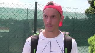 Marek Gengel po prohře ve čtvrtfinále na turnaji Futures v Ústí n. O.