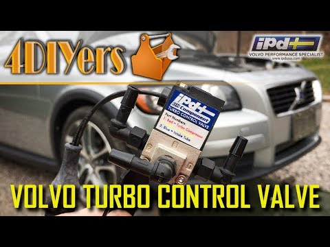 How to Replace the Turbo Control Valve on a Volvo C30 S40 V50 C70 – IPDUSA Upgrade