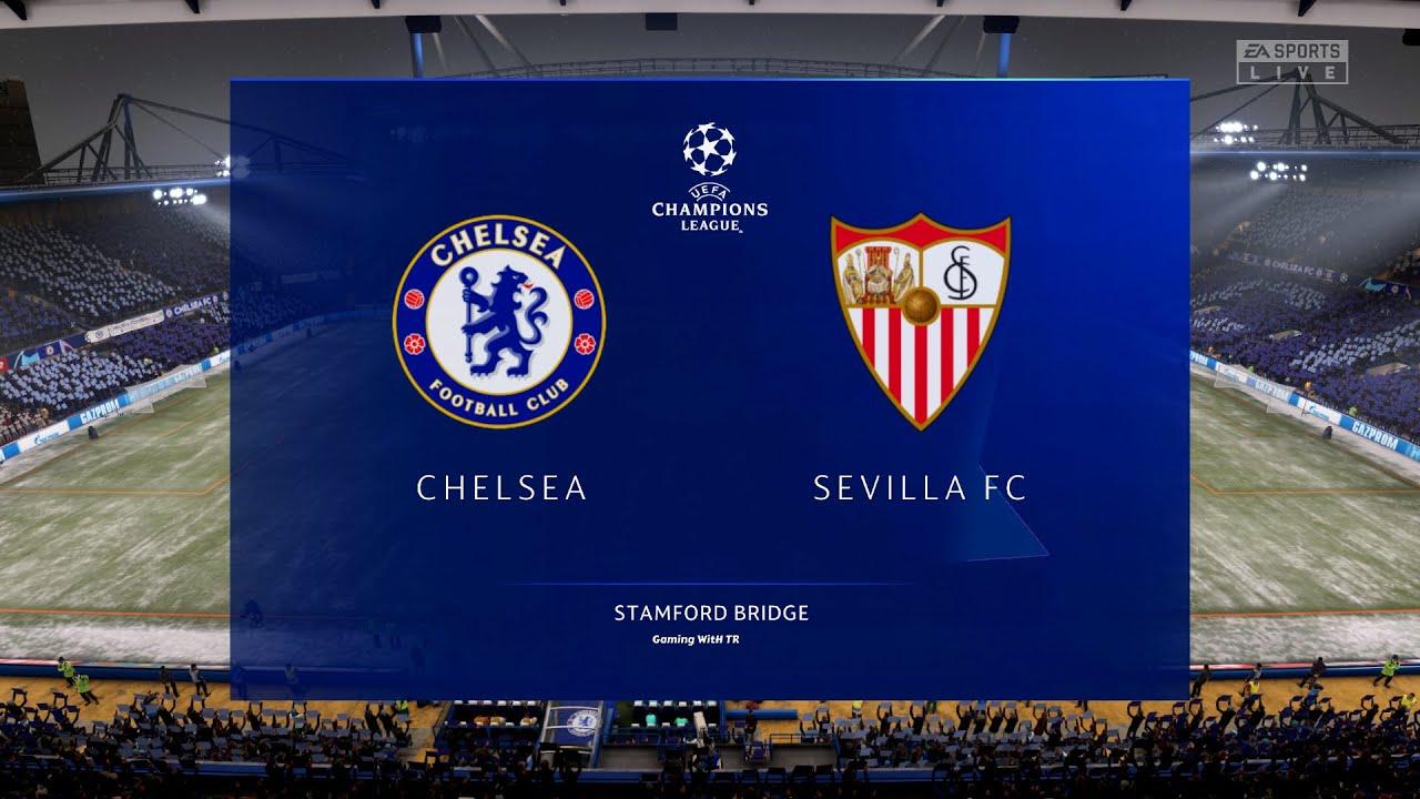 Fifa 21 Chelsea Vs Sevilla Uefa Champions League 20 21 Fhd Gameplay Youtube