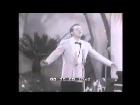 Johnny Dorelli - Domenico Modugno - Nel Blu Dipinto Di Blu ( Volare ) - Sanremo 1958