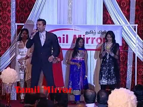 Medley by Steve, Parthi & Magisha at Tamil Mirror Awards Gala 2013