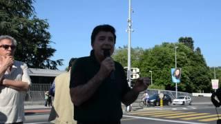 Manifestation soutien avec le peuple Turque ( Discours Aydin DERE ) Resimi