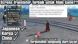 Aplikasi Penerjemah Bahasa in Game Terbaik Untuk Android ( Screen Translate ) !! Korea,China,Jepang screenshot 2