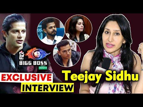 Teejay Sidhu Exclusive Interview On Bigg Boss 12 | Karanvir Bohra's Wife | Dipika, Sreesanth, Romil