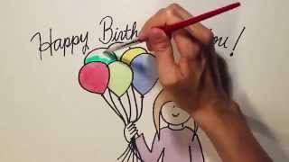 Repeat youtube video გილოცავ! Happy Birthday To You!