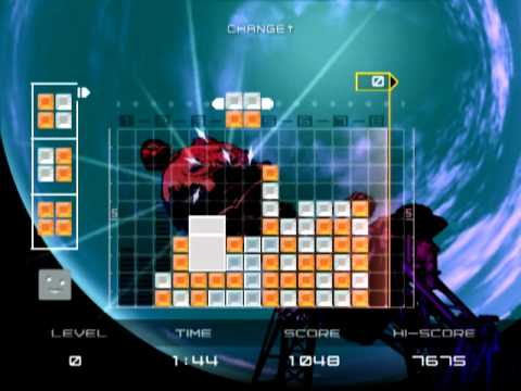 Lumines Plus (PS2 Gameplay)